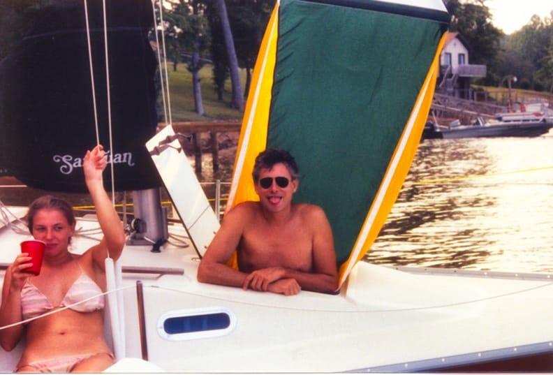 JJ & Martine, Lake Norman, circa 1985