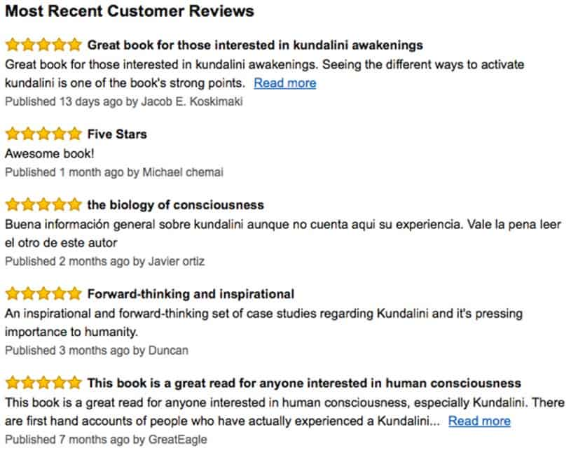 Amazon book reviews for The Biology of Consciousness